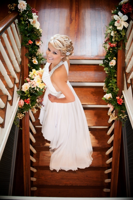 Bride on Stairs AVC