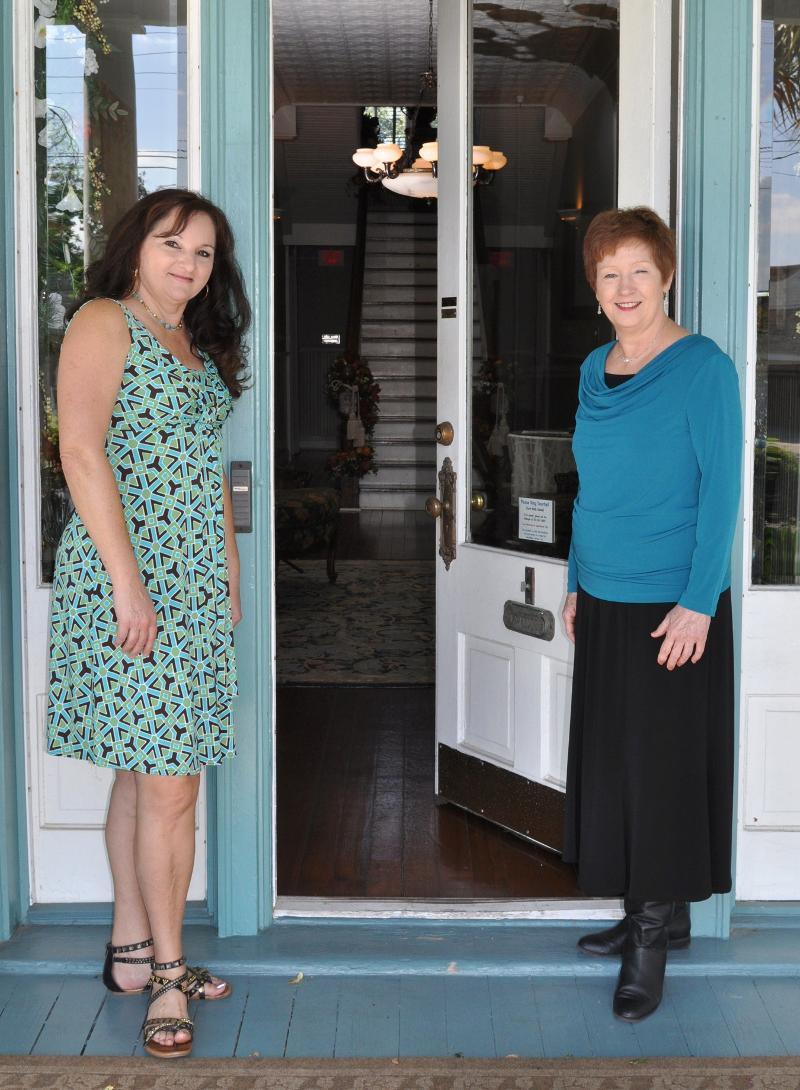 Carolyn and Mae Front Door
