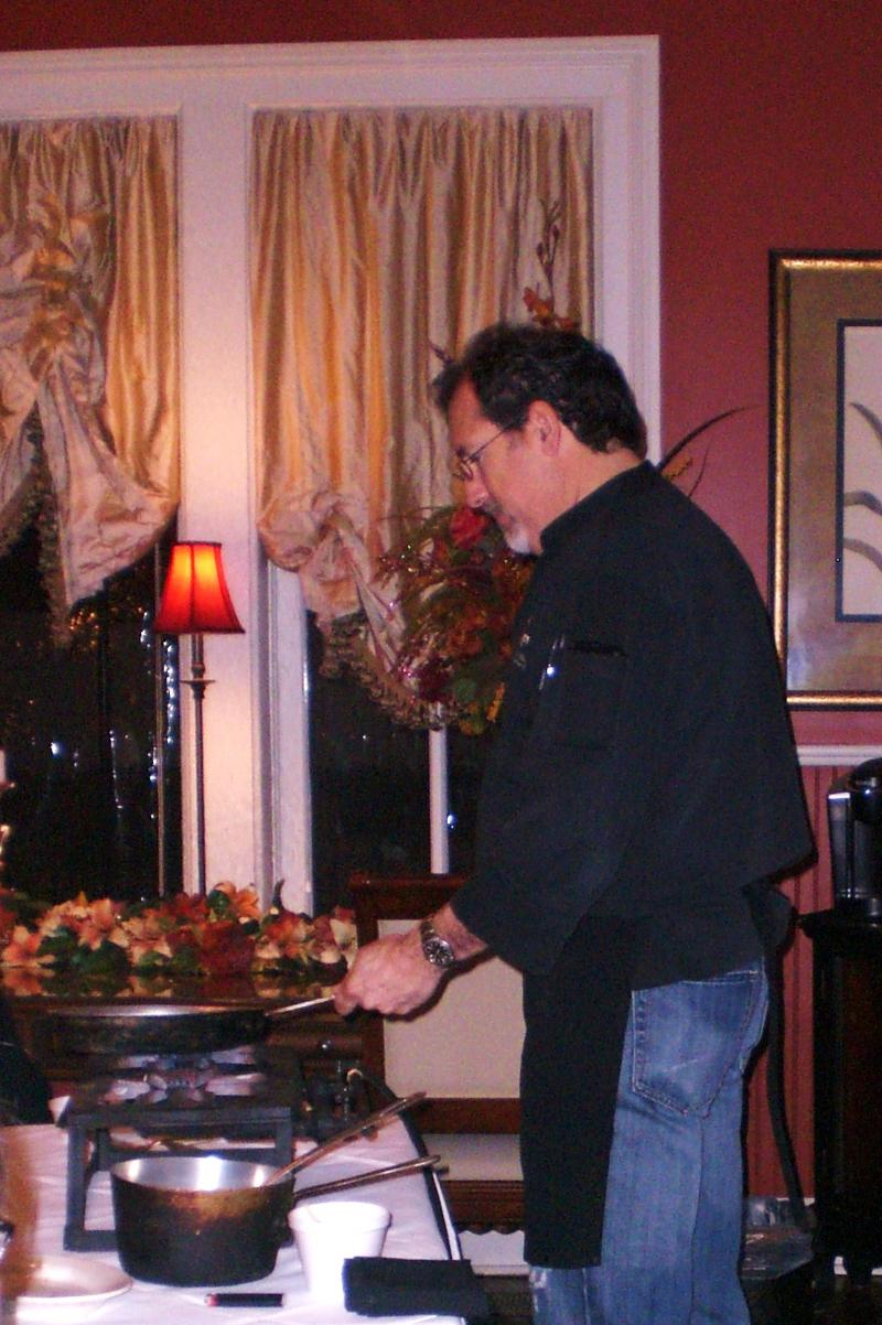 Chef Brian Blanchard
