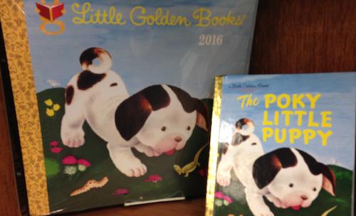Golden Book Calendar