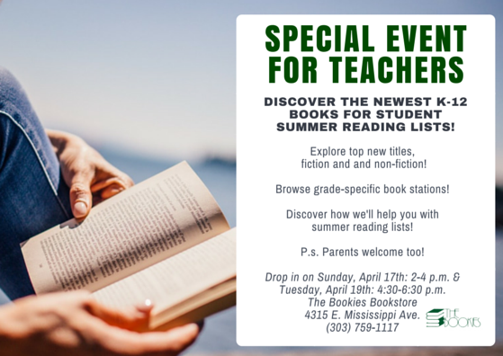 Summer Reading Event