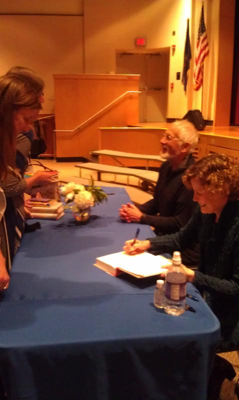 Debbie's nose, Judy Blume, and her husband, George Cooper