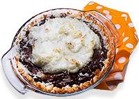 Chocolate Coconut Creme Pie