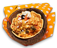 No-cook coconut fruit curry