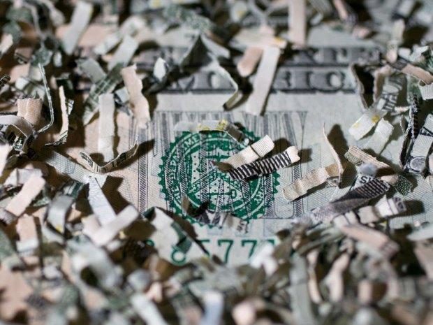 Shredded US Dollar