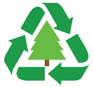Symbol for Treecycling