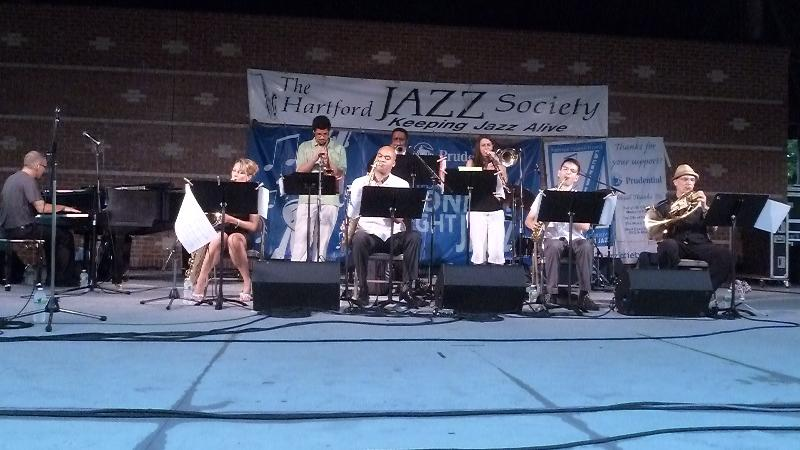 Live Jazz in Bushnell Park - Earl MacDonald & The Hartford Jazz Society New Directions Ensemble