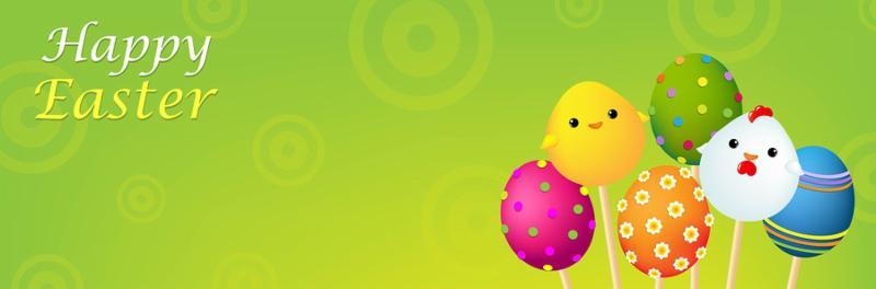 Color Easter Banner