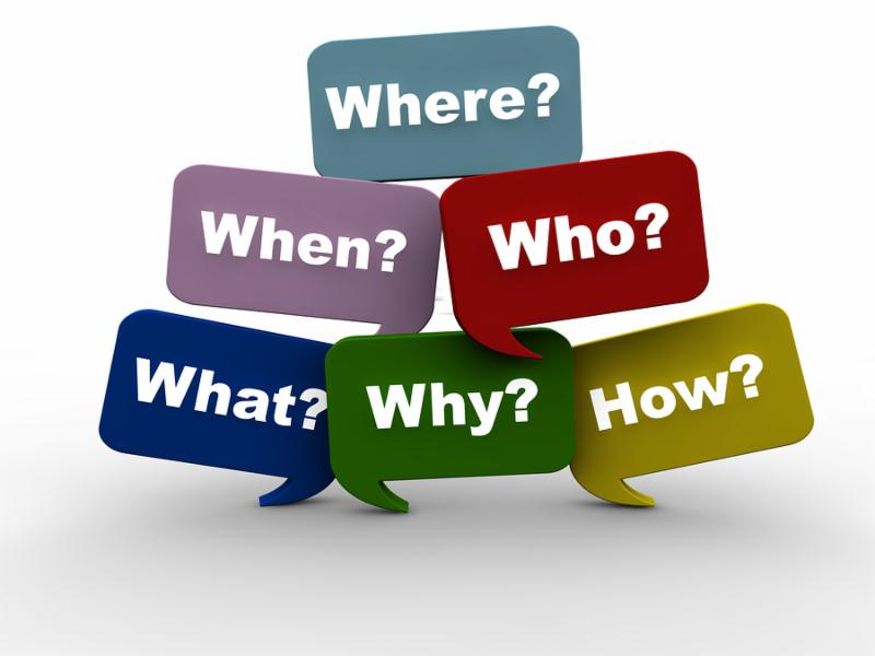 Resolving issues by asking the most important questions