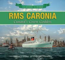 Rms Caronia Book