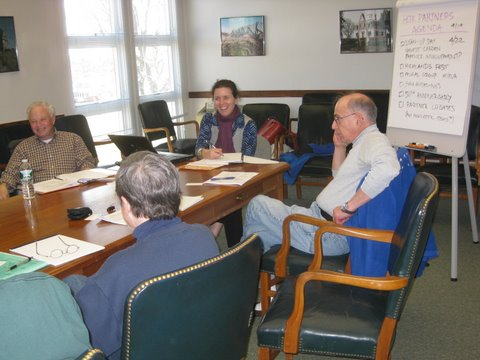 Park Partners Project meeting