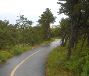 P L bike trail