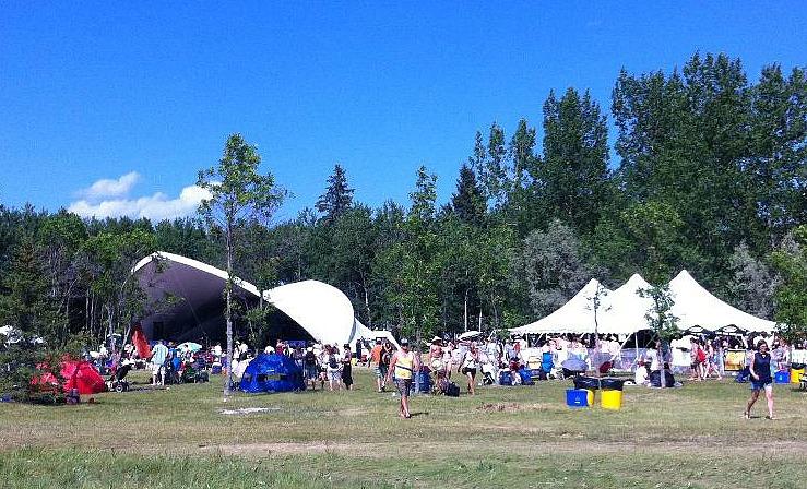 Folk Festival Big Bluestem