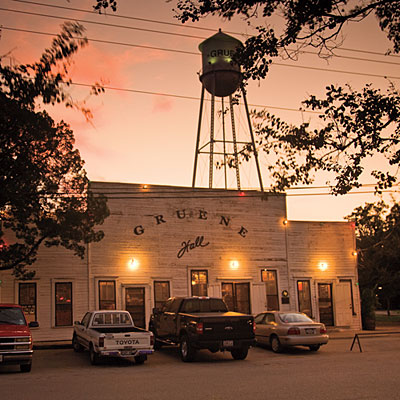 Gruene Hall from Southern Living