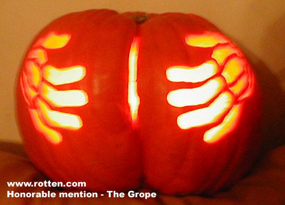 Halloween groping
