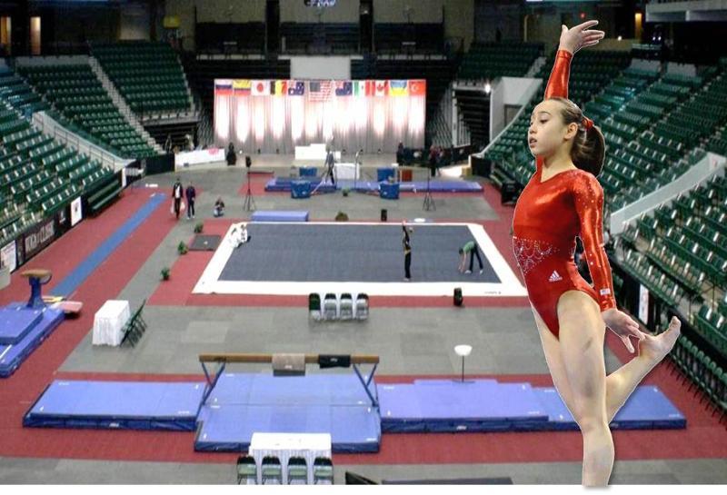 woga classic gymnastics meet 2013 dodge