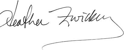 Heather Zwickey Signature