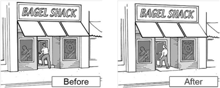 Bagel Shack Before & After