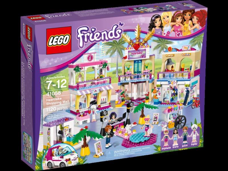 visit the lego friends heartlake city mall. Black Bedroom Furniture Sets. Home Design Ideas