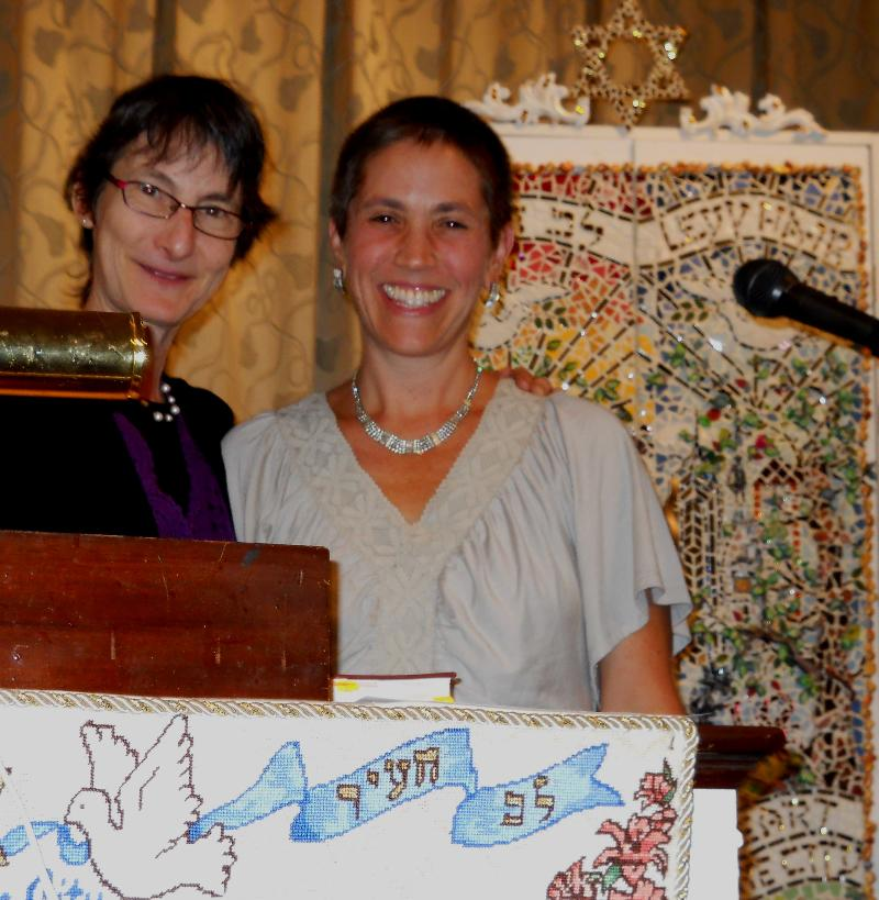 Rabbi Julie and Cantor Jesse