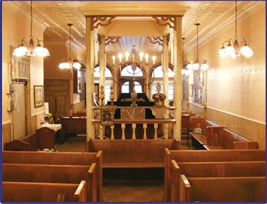 Little Shul interior