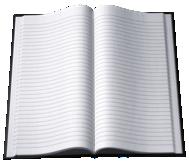 Book Open b-w