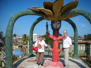 Pat Wisch in Cuba