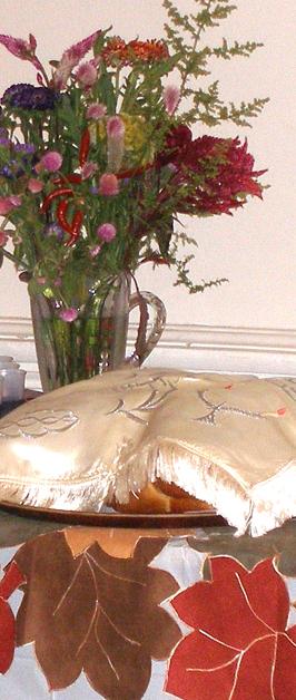 Rosh Hashanah Kiddish Table