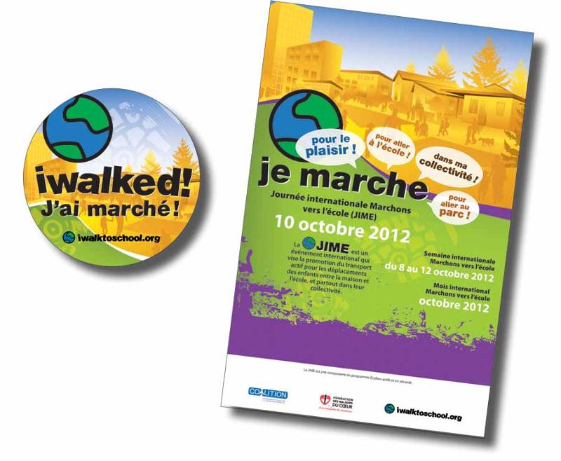 Poster and Sticker, French