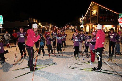 Canmore Skiiers