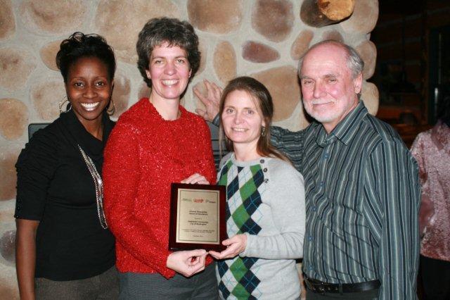 Award Dinner-Aldershot-Nov 2010