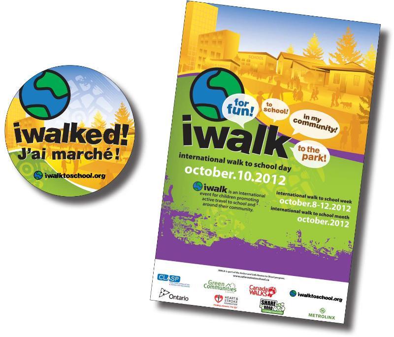 iWalk Poster and Sticker