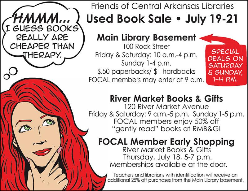 july book sale