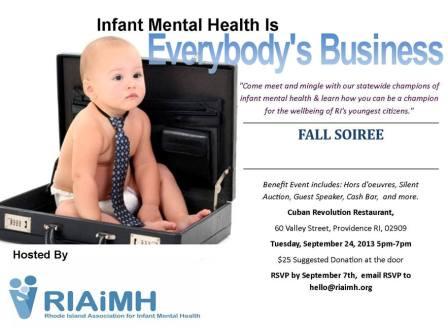 Infant Mental Health Event 2013