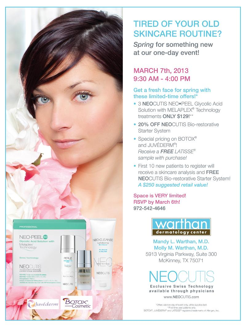 NeoCutis and Botox Event