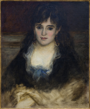 Portrait de Nini by Renoir