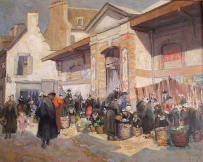 Hale's Market Scene