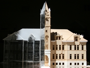 Model of Main Hall