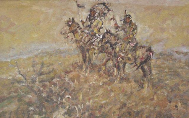 Julius Seyler, Blackfeet Raiders of the Plains