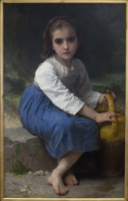 Jeune Fille a la Cruche by William Bouguereau