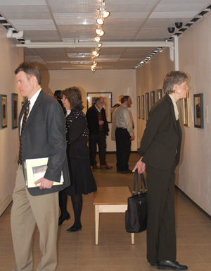 UM Academic Officers tour the Masterworks exhibitions