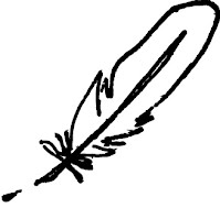 drifting theatre's copy written feather