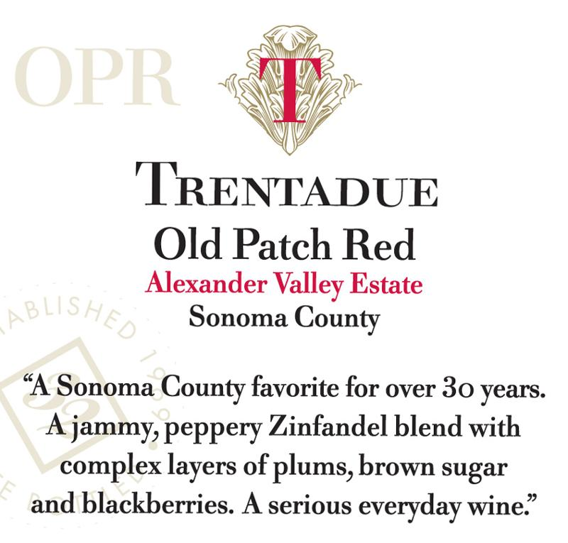 Trentadue Old Patch Red