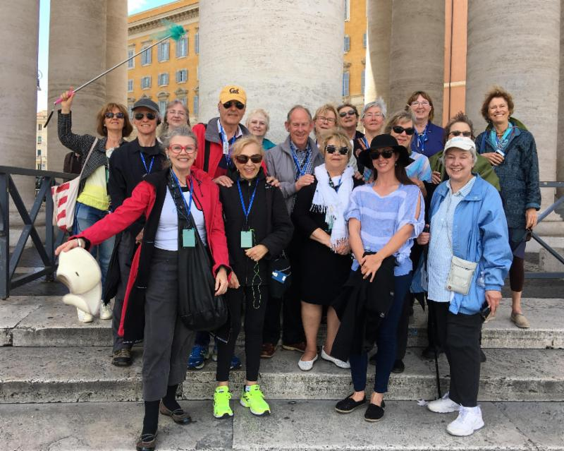 OLLI group at Vatican