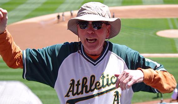 Mick Chantler at baseball game