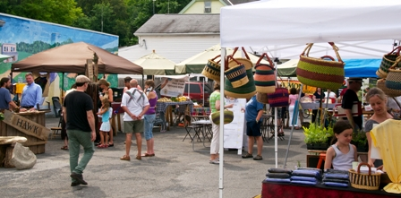 Market scene - photo credit Steve Benson