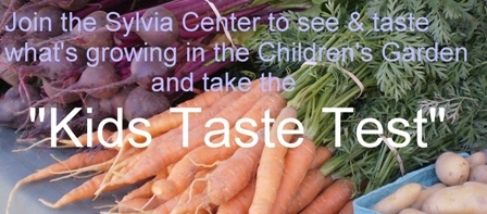 Kids Taste Test - Sylvia Center