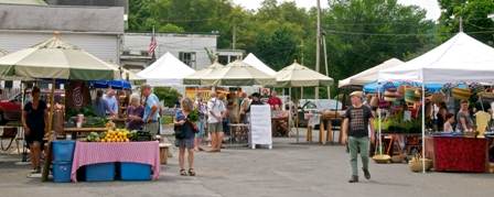 Market scene - July 15th