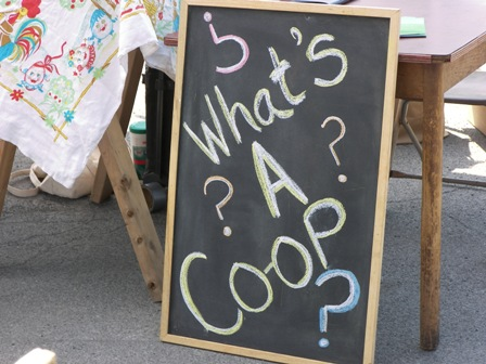 Co-op blackboard