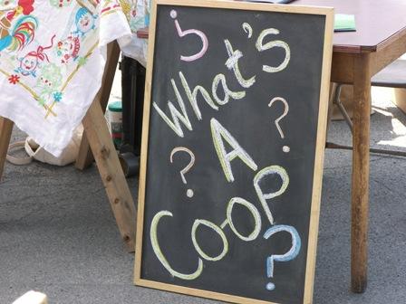 Co-op blackboard